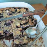 french toast with blueberry casserole