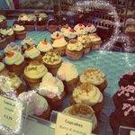 Cupcakes in vetrina