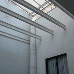 Pozzo di luce stanze interne