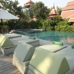 Siripanna Resort - Pool view