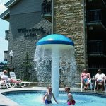 Children's Pool and Mushroom Fountain