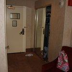 gangen set fra værelse
