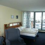 Zimmer 13 Schlafbereich