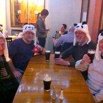 Four Pandas ready to go on Facebook - thanks to staff.