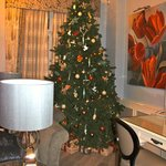 Christmas in the Townhouse, Flemings Hotel, London.