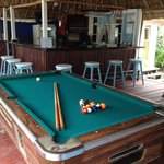 billiard table -