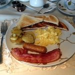 Amazing Breakfast (looks normal, not even close!)