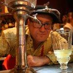 Le miracle du goutte à goutte sur l'absinthe