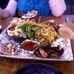Zhou Zhou's lunch platter