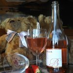 teddies and wine mmmmm