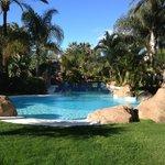 La piscina del Jardín