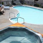 Outside Pool & Hot Tub