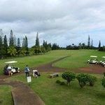 Golfing - 9 holes