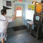 You can also play darts