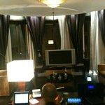 questo e' solo il salotto della suite
