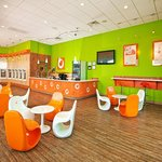 Photo of Orange Leaf