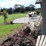Out from the Bay of Islands suite, past Paihia Room