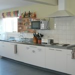 Guest self-catered kitchen available 24 hours