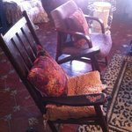 rocking chairs in the Great Room