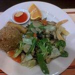 Lunch veggie Stirfry