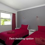 Twin bedding option
