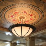 Magnificent ceiling in lobby