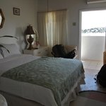 Our room at Ivanhoe's Guest House in Port Antonio, Jamaica.