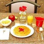 Complimentary Expanded Breakfast w/ Belgian Waffles