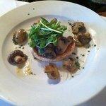 mushroom on brioche