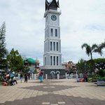 Picture of Jam Gadang from the park