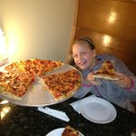 Harry's delicious pizza