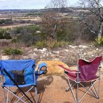 It really is in a beautiful area.  We took our own folding chairs for sentimen