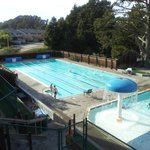 The Pool at the next door Seascape Health Club you have access to.