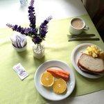 café da manhã .... breakfast