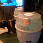 Bottle Sterilizer available upon request