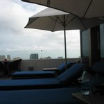 Outside Club Lounge Area