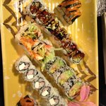 All you can eat at Sushi Ai St. Louis downtown near the Gateway Arch.