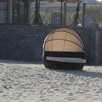 sunchair on the beach