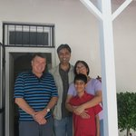 The Chauhan family sent us a photo