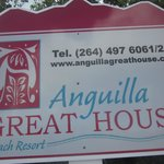 Anguilla Great House.  The entrance made me nervous but eh beach was a wonderf