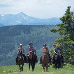 ‪Moose Mountain Horseback Adventures - Day Tours‬ صورة فوتوغرافية