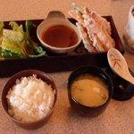 Shrimp & Vegetable Tempura Lunch Special