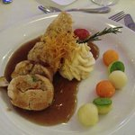 Main course at the Chef's Dinner