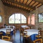 Pizzeria-Trattoria Napoli del'Albergo la Foresteria Photo