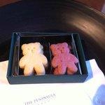ウェルカムクッキー? しっとりとしておいしかったです。