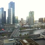 View from the room, towards Southbank/Crown Casino