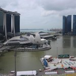 View of the Marina Bay area.