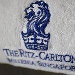 Ritz-Carlton towel.