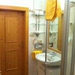 Dusche und WC im Appartement****