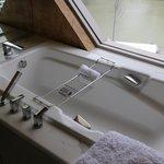 Bath tub.